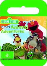 Sesame Street -  Elmo's Animal Adventures (DVD, 2009)