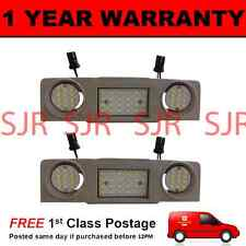 2X FOR VW GOLF MK5 6 GOLF PLUS 48 WHITE LED FRONT INTERIOR COURTESY LAMPS