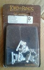 LOTR Warhammer Games Workshop Khazad Guard Metal Miniatures Boxed