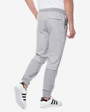 Adidas SPORT LUXE MIX Track Pants sweat gym running CUFFED Jogger superstar~Sz S