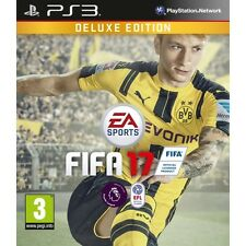 FIFA 17 Deluxe Edition PS3 Game Brand New
