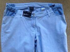 "BNWT NEXT Blue Skinny Maternity Jeans Size 12 Long Inside Leg 32"""