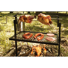 "Cooking Grill Camping Chicken BBQ Rotisserie Equipment Patio Outdoor 24"" x 16"""