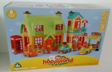 ELC HAPPYLAND ROSE COTTAGE BAKERY GREENGROCER PEOPLE CARS VILLAGE GIFT SET NEW