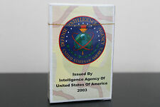 Defense Intelligence Agency Playing Cards (2003) Iraq / Most wanted / Saddam NEW