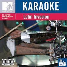 FREE US SH (int'l sh=$0-$3) NEW CD Various Artists: Karaoke: Mtv Latin Invasion