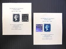 GB 2015 EUROPHILEX 1940 pair of Penny Black Centenary Sheets SEE BELOW FP3056