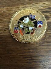 Alpha Dawgs 184th Infantry 2009 Iraqi Freedom Challenge Coin