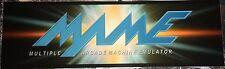"""Mame Arcade Marquee 26""""x8"""""""