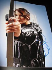 JENNIFER LAWRENCE SIGNED AUTOGRAPH 11x14 PHOTO CATCHING FIRE HUNGER GAMES COA D