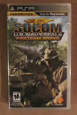 Video Game - PSP - SOCOM US Navy Seals Fireteam Bravo  - Brand New - PS Network