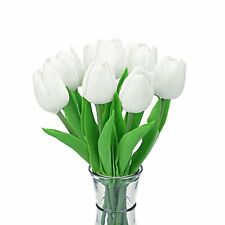 Decora 10Pcs/Bag High Quality PU Holland Mini Tulip Artificial Flower Real Touch