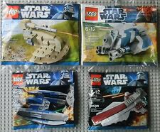 Lego Star Wars Minis 30052 30059 30053 30055 AAT MTT Cruiser Droid Fighter Promo