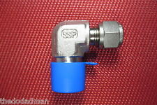 "SSP Griplok® 3/8""Tube OD x 1/2""NPT Male Pipe ELBOW CONNECTOR 316 Stainless Steel"