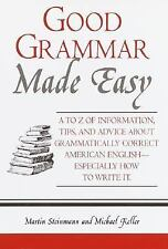Good Grammar Made Easy, Keller, Michael, Steinmann, Martin, Good Condition, Book