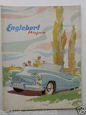 ORIGINAL ENGLEBERT MAGAZIN 35/1954 WERBUNG REIFEN OLDTIMER SAMMLER AACHEN 50 S.
