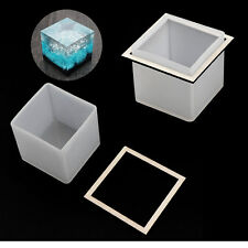 Square Cube Mold Cabochon Resin Silicone Mould diy Jewellery Making