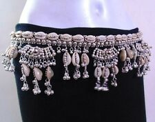 NEW KUCHI TRIBAL SILVERTON COWRIES HIP BELT BELLY DANCE COSTUME JEWELRY GYPSY