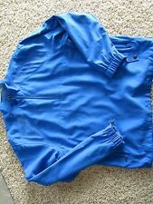 CALLAWAY GOLF BLUE PULLOVER JACKET MENS L MINT CONDITION FREE SHIP