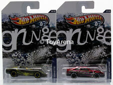 Hot Wheels Jukebox Grunge '97 Chevy Corvette & '92 Ford Mustang Wal-Mart 2013