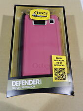 NEW Otterbox Motorola RAZR MAXX HD Defender Series Blushed Pink Case w/Holster