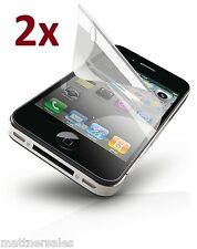 2x SUPERIOR LCD Screen Protector for Apple iPhone 4S 4 4G - Front & Back Cover!