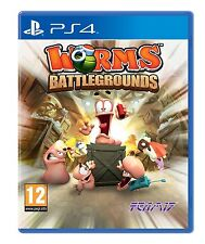 PS4 Spiel Worms Battlegrounds für Playstation 4 NEU