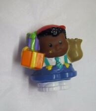 Rare! Fisher Price Little People BIRTHDAY PARTY MICHAEL African American Boy #2