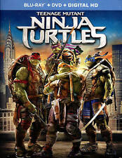 Teenage Mutant Ninja Turtles (Blu-ray/DVD, 2014, 2-Disc Set, Includes Digital C…