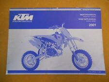 2001 KTM 50SX Pro Factory Spare Parts Manual