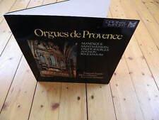 Orgues de Provence FRANCIS CHAPELET MICHEL CHAPUIS LUCIENNE ANTONINI Manosque LP
