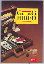 1982 Getting Hired Soft Cover Book Resume Interviews Job Hunting Coors Beer 1985
