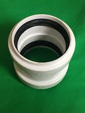"New 4"" COUPLINGS STOP ASTM F-1336 PVC PSM CSA B182.2 NSF-SEWER G604 SDR GASKETED"
