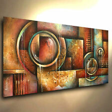 Modern Abstract Art CONTEMPORARY Giclee Canvas Print, Steam Punk M.Lang Painting