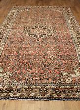 VECCHIO lana realizzato a mano Persiano Oriental FLORAL RUNNER Area Rug Carpet 300x163cm