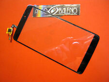 "TOUCH SCREEN +VETRO PER ALCATEL ONE TOUCH IDOL 3 5.5"" OT-6045 PER DISPLAY NERO"