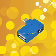 OTG Adapter USB 3.0 Female to USB 3.0 Micro Female/ Male Android Tablet PC Phone