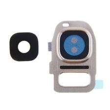Appareil photo arrière lentille couverture verre cadre samsung galaxy S7 & edge G930F G930A argent