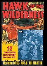 HAWK OF THE WILDERNESS - Cliffhanger serial with EXTRAS  2 disc DVD- Herman Brix
