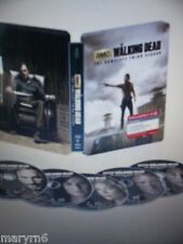 The Walking Dead Special Edition Steelbook Season 3 Blu-ray 2013 5-Disc Set New