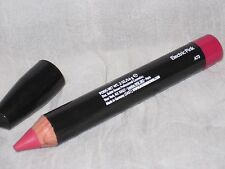 NEW BOBBI BROWN LED ART STICK FOR CHEEK & LIP, ELECTRIC PINK #4, NO BOX
