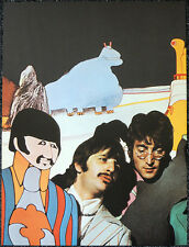 THE BEATLES POSTER PAGE . JOHN LENNON & RINGO STARR YELLOW SUBMARINE . R8