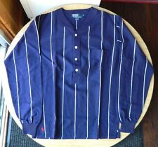POLO by Ralph Lauren / 4 Button Pull-over Cotton Shirt / Size M / Made in USA
