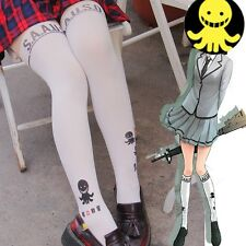 Anime Assassination Classroom Octopus Pattern Pantyhose Fake Thigh High Tights