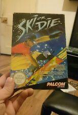 Ski or die nes nintendo complete