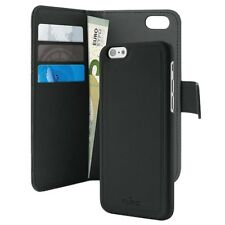 WALLET DETACHABLE 2 IN 1 COVER BLACK IPHONE 7  PURO