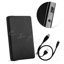 USB 2.0 Hard Drive External Enclosure 2.5inch SATA HDD Mobile Disk Box Case