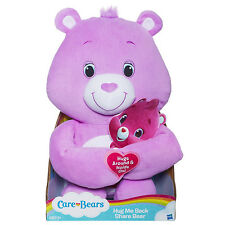 Care Bears Hug Me Back Share Bear 16 inch Plush, New by Hasbro