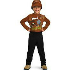 Disney Pixar Cars TOW MATER Child Costume Boy M (7-8) NEW!