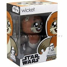 Rare Star Wars 2008 Mighty Muggs Vinyl Series Wicket Ewok 6'' Figure Doll Toy